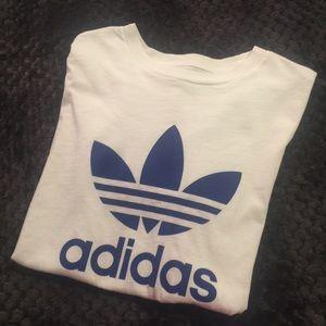 Adidas Original Blue Logo Tee